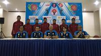 Konferensi pers Kejurnas Voli U-17 2018 yang didukung Ikatan Atlet Voli Indonesia (IAVI) dan PB PBVSI. (Liputan6.com/Ahmad Fawwaz Usman)