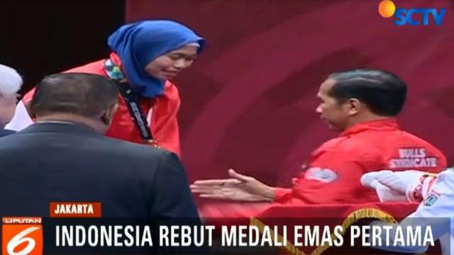 Lagu Indonesia Raya pun berkumandang untuk pertama kalinya di Asian Games di negeri sendiri.
