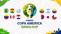 Copa America 2019 Logo (Bola.com/Adreanus Titus)