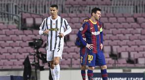 Persaingan dua pemain terbaik dunia, Cristiano Ronaldo dan Lionel Messi menjadi bumbu di babak 16 Besar Liga Champions musim ini. Berbagai rekor telah mereka ciptakan di babak yang sama di musim-musim sebelumnya. Akankah rekor mereka dapat diperbarui? (AFP/Josep Lago)