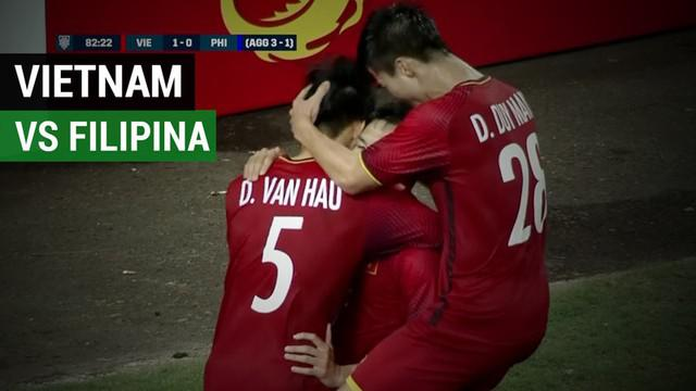 Berita video highlights semifinal leg II Piala AFF 2018, Vietnam vs Filipina, yang berakhir dengan skor 2-1, Kamis (6/12/2018).