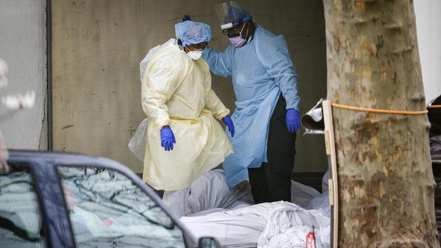 FOTO: Kematian Global Akibat COVID-19 Tembus 70 Ribu