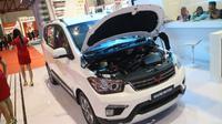 Wuling Motors pamerkan Confero dan Confero S di acara Jakarta Fair 2017. (Herdi Muhardi)