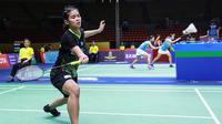 Penampilan Gregoria Mariska Tunjung pada babak kedua Thailand Masters 2020, Kamis (23/1/2020). (PBSI)