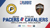 NBA Playoff Indiana Pacers Vs Cleveland Cavaliers Game 3 (Bola.com/Adreanus Titus)