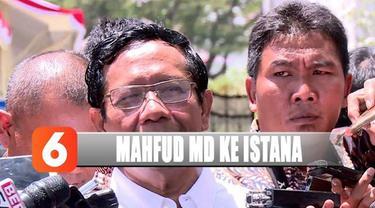 Usai bertemu Presiden Jokowi, Mahfud MD mengaku diminta menjadi menteri.