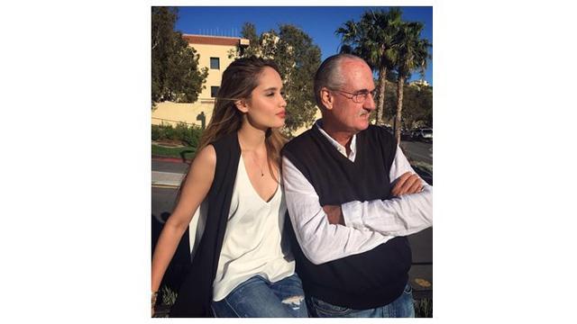 Jarang Terekspos, Ini 7 Potret Cinta Laura dan Ayah Bulenya