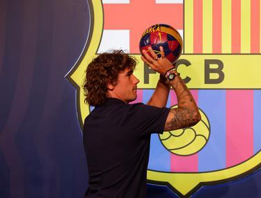Antoine Griezmann Resmi Bergabung dengan Barcelona