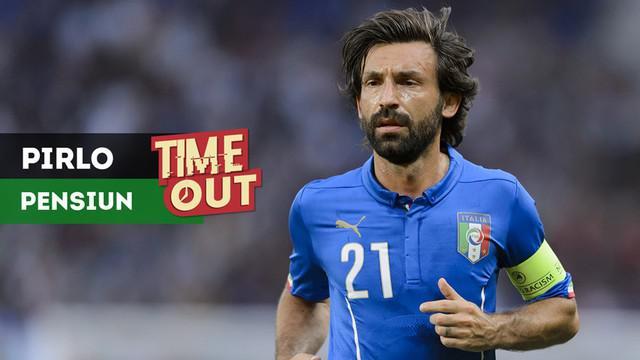 Gelandang asal Italia yang kini bermain di New York City FC, Andrea Pirlo, secara resmi mengumumkan pengunduran dirinya dari sepak bola.