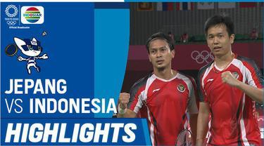 Berita video highlights kemenangan yang mengantarkan Mohammad Ahsan / Hendra Setiawan ke semifinal cabang olahraga bulutangkis nomor ganda putra di Olimpiade Tokyo 2020, Kamis (29/7/2021) pagi hari WIB.