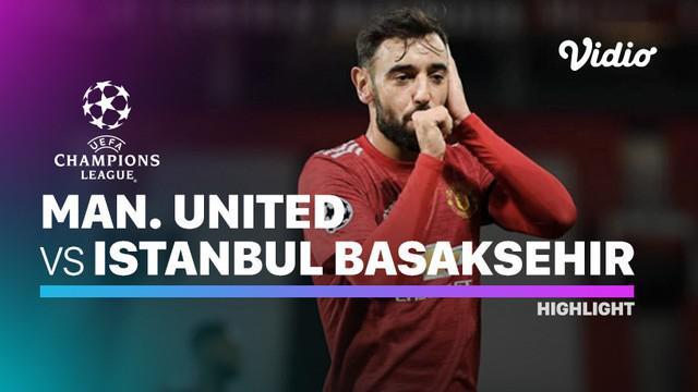 Berita video, Bruno Fernandes sumbang dua gol saat Manchester United kalahkan Istanbul Basaksehir di matchday 4 Liga Champions 2020/2021
