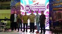 Indonesia Modification Expo (IMX) 2019 resmi dibuka Menteri Perindustrian Republik Indonesia Airlangga Hartarto, Sabtu (28/9/2019).