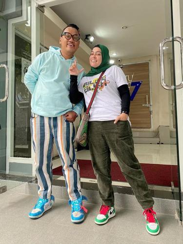 Uya Kuya dan Astrid. (Foto: Instagram @king_uyakuya)