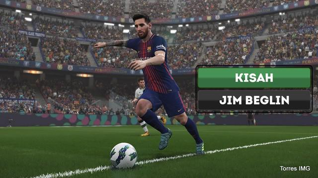 Berita video kisah sedih komentar gim video sepak bola PES (Pro Evolution Soccer) bernama Jim Beglin.