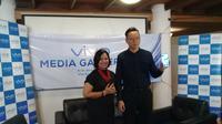 Media gathering Vivo di Lembang, Bandung, Rabu (9/1/2019). Liputan6.com/Surya Handika