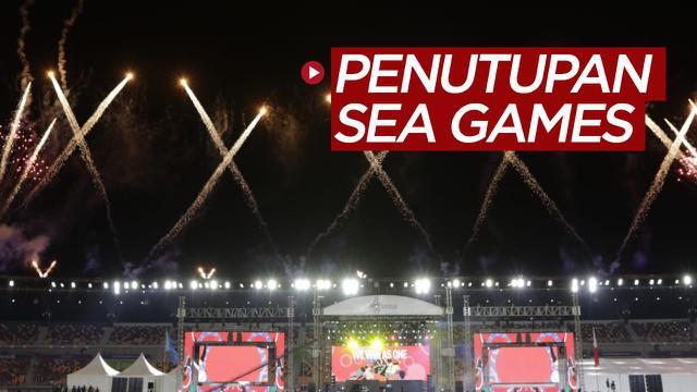 Berita video acara penutupan SEA Games 2019 yang turut dimeriahkan oleh grup musik Amerika Serikat, Black Eyed Peas, Rabu (11/12/2019).