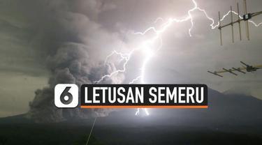 Letusan Gunung Semeru yang terjadi Selasa (1/12) dini hari memicu luncuran lava pijar dan hujan abu. Petugas pantauan Gunung Semeru berhasil abadikan momen dahsyatnya letusan gunung tersebut.