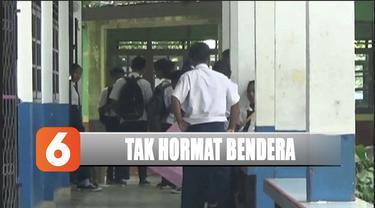Dua siswa SMP di Batam, Kepulauan Riau, dikeluarkan dari sekolah lantaran menolak hormat bendera dan menyanyikan Indonesia Raya.