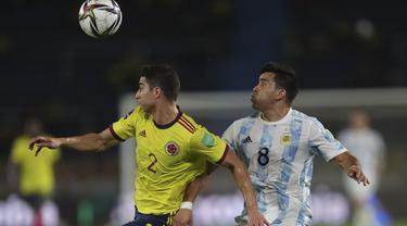 Kualifikasi Piala Dunia Argentina vs Kolombia