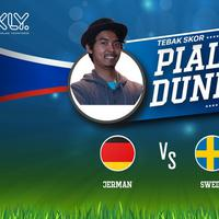 Laga Jerman VS Swedia dini hari nanti pasti akan menyuguhkan pertarungan yang sengit. Kira-kira, tim manakah yang akan dipilih Dodit yang akan diprediksi keluar sebagai pemenang dalam laga big match Jerman VS Swedia? Yuk, simak videonya.