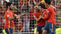 Luis Enrique belum bisa memimpin Timnas Spanyol karena masalah keluarga (OSCAR DEL POZO / AFP)