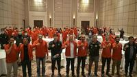 Ketua Umum PSSI Mochamad Iriawan melepas Timnas Indonesia U-19 yang menjalani TC di Kroasia. (PSSI)
