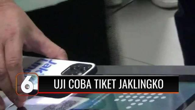 Pemprov DKI Jakarta menguji coba JakLingko untuk sejumlah moda transportasi di Ibu Kota. Wagub DKI Jakarta, Riza Patria, berharap langkah ini dapat menekan angka kemacetan di ibu kota dan memudahkan masyarakat.