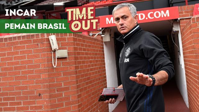 Berita video Time Out kali ini tentang pemain-pemain asal Brasil yang diinginkan Manchester United.