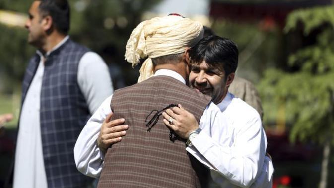 Idul Fitri di Afghanistan (AP PHOTO)
