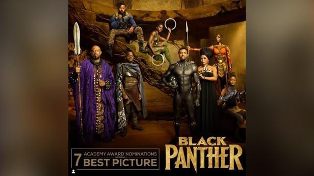 Film superhero Black Panther masuk dalam jajaran nominasi best picture Oscar. Capaian ini menjadi sejarah baru dalam nominasi Oscar 2019.