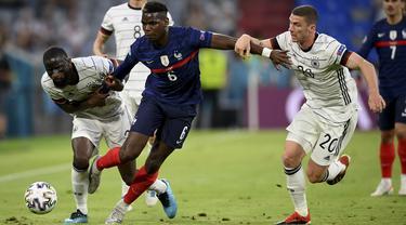 Prancis Taklukkan Jerman 1-0
