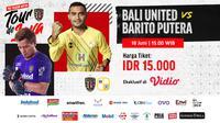 Link Live Streaming Bali United Tour de Java Eksklusif di Vidio, Jumat 18 Juni 2021. (Sumber : dok. vidio.com)