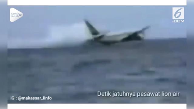 Beredar di media sosial, cuplikan video Hoax yang menggambarkan detik-detik jatuhnya pesawat Lion Air.
