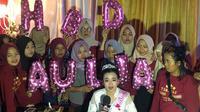 Momen Haru Perayaan Ulang Tahun Aulia D'Academy 4 yang Ke 22. (Sumber: Instagram @da4_aulia)