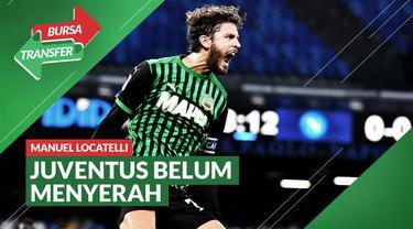 Berita Video, Juventus Semakin Dekat dengan pemain Sassuolo, Manuel Locatelli