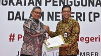 Kementerian Perindustrian Republik Indonesia (Kemenperin RI) memberikan apresiasi Peningkatan Penggunaan Produk Dalam Negeri (P3DN) kepada Satuan Kerja Khusus Pelaksana Kegiatan Usaha Hulu Minyak dan Gas Bumi (SKK Migas) di Gedung Kemenperin RI.