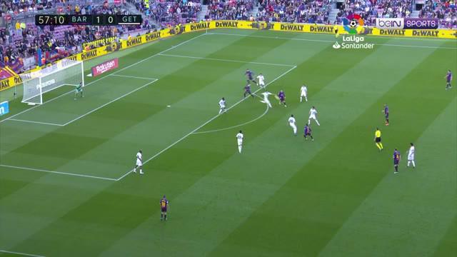 Berita video highlights La Liga antara Barcelona menghadapi Getafe yang berakhir dengan skor 2-0.