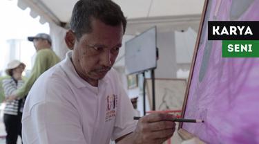 Berita video penyandang disabilitas rungu sekaligus wicara bernama Dwi Putra memeriahkan Asian Para Games 2018 dengan karya seni lukisnya.