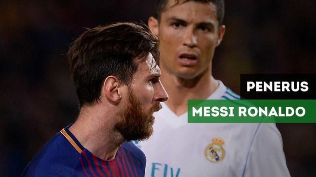 Siapa saja calon penerus Lionel Messi dan Cristiano Ronaldo menurut The Guardian?