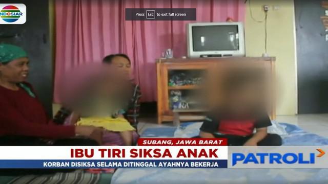 Ibu tiri tersebut sempat buron karena mencoba kabur usai menyadari aksi kekerasan yang dilakukannya, telah diketahui oleh sang suami