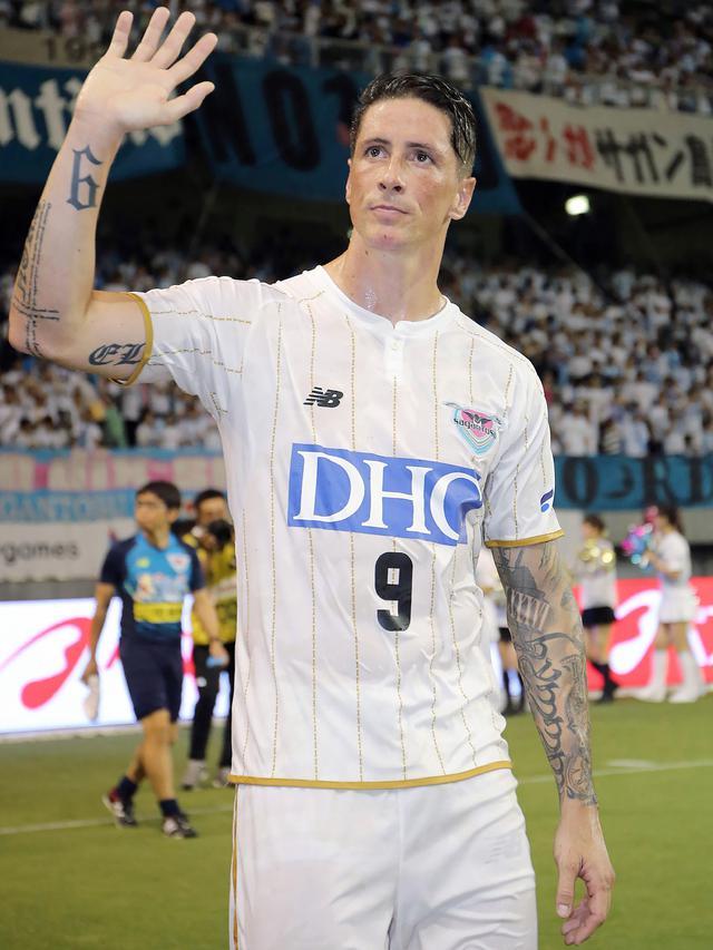 Fernando Torres Resmi Pensiun Dari Sepak Bola Dunia Bola Com