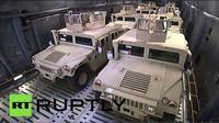 Kendaraan ini akan digunakan oleh militer Ukraina untuk mengatasi perang yang kembali berkecamuk.