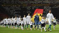 Timnas Jerman masih menjadi pemuncak ranking FIFA terbaru diikuti Brasil dan Belgia yang naik dua peringkat. (AFP/Robert Michel)