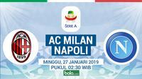 Serie A: AC Milan Vs Napoli (Bola.com/Adreanus Titus)