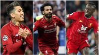 Liverpool saat ini mempunyai trio penyerang hebat yang telah terbukti kemampuannya. Mereka begitu kompak dan tajam di depan gawang lawan. Trio racikan Jurgen Klopp ini terdiri dari Roberto Firmino, Sadio Mane, dan Mohamed Salah.