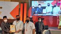 Bobby Nasution dan Aulia Rachman ditetapkan sebagai pemenang Pilwalkot Medan 2020