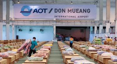 Kasus Covid-19 Melonjak, Thailand Fungsikan Bandara hingga Stasiun Kereta untuk Rawat Pasien