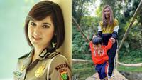 6 Potret Terbaru Briptu Eka Frestya saat Urus Anak, Ibu Idaman (sumber: Instagram.com/e_frestya)