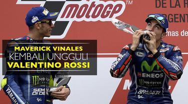 Berita video Maverick Vinales yang kembali ungguli rekan setim Movistar Yamaha, Valentino Rossi, dengan menjadi juara di Argentina.