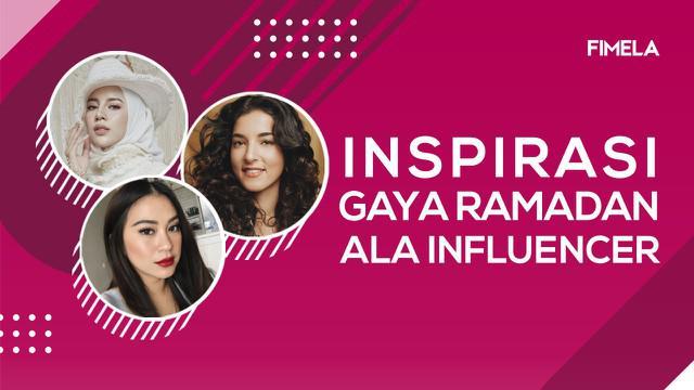 Ramadan dan Idul Fitri identik dengan gaya busana yang khas. Berikut inspirasi gaya ramadan ala tiga influencer cantik, mulai dari Tasya Farasya hingga Aghnia Punjabi.